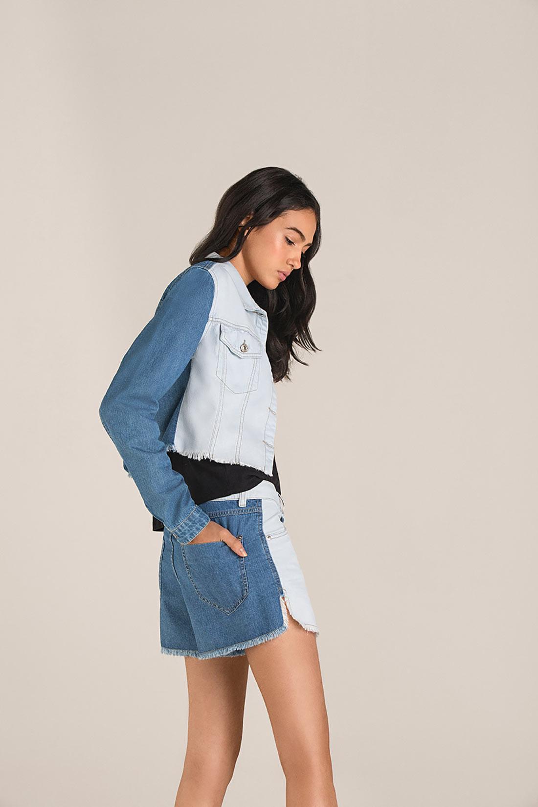 Shorts Comfort Bicolor Jeans f8ab55d4ce0